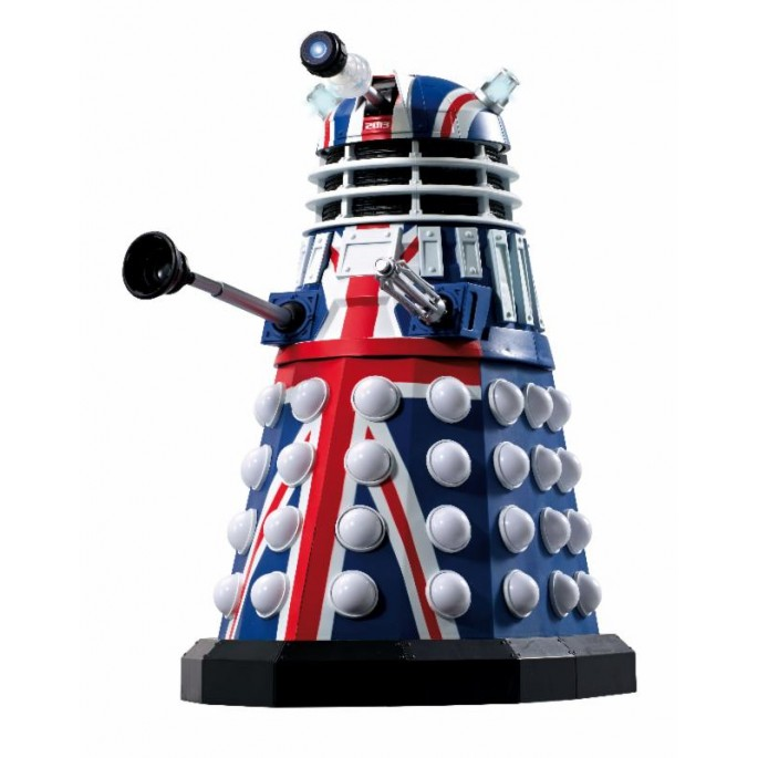 Doctor Who 12 Inch Union Jack Dalek