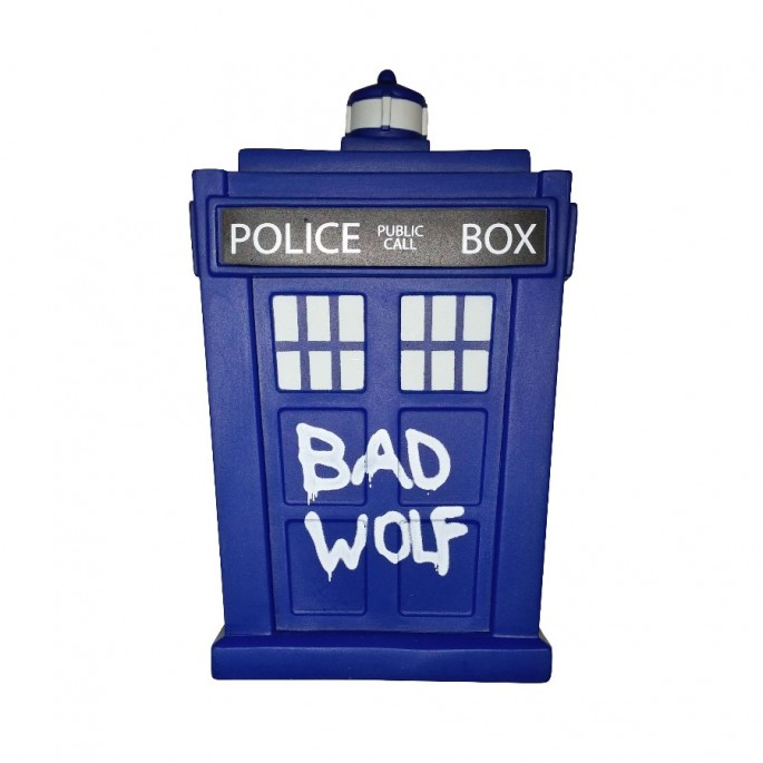 Doctor Who Titans Bad Wolf TARDIS 6 1/2-Inch Vinyl Figure