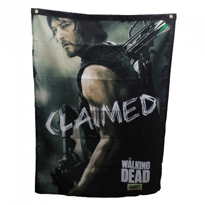The Walking Dead Daryl Claimed 29in x 38in Banner