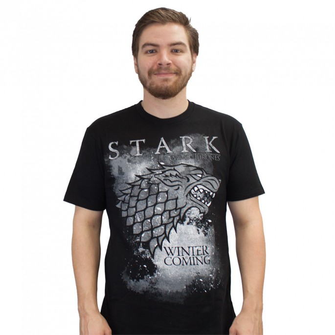 Game of Thrones House of Stark Winter Is Coming Adult T-Shirt