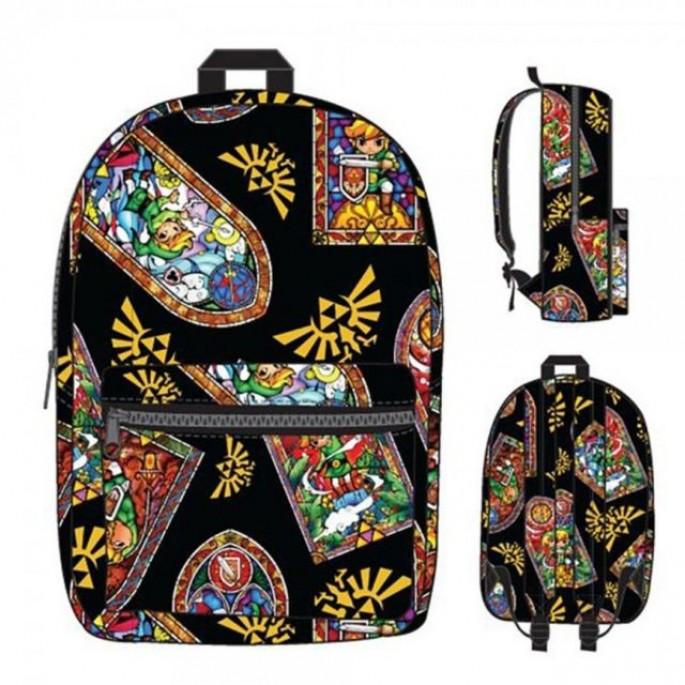 Nintendo Zelda Stained Glass Backpack
