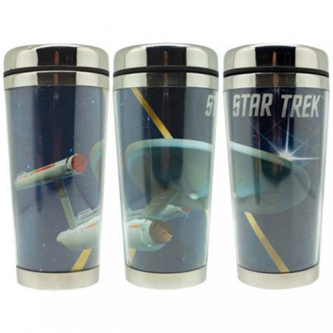 Star Trek Enterprise 16oz Travel Mug
