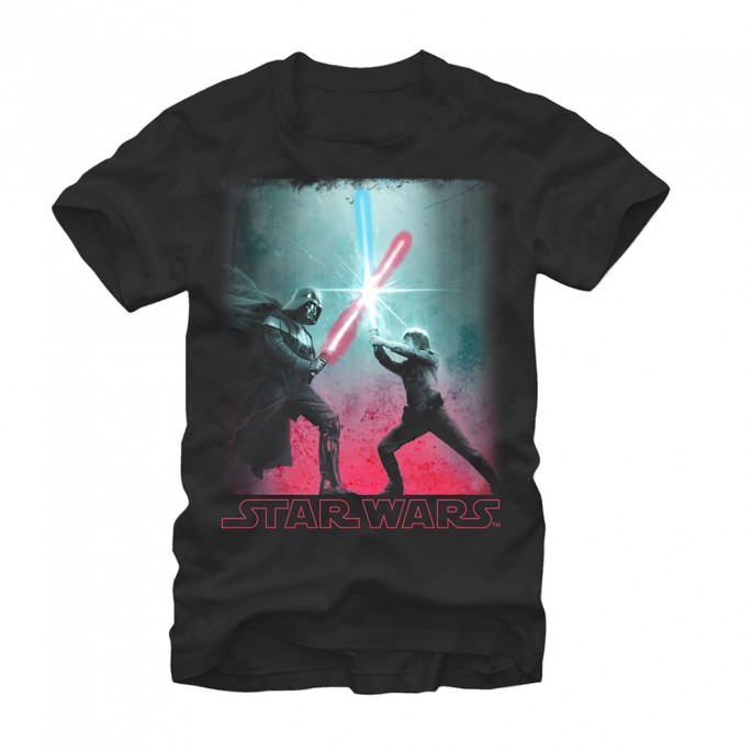 Star Wars Big Duel Adult T-shirt