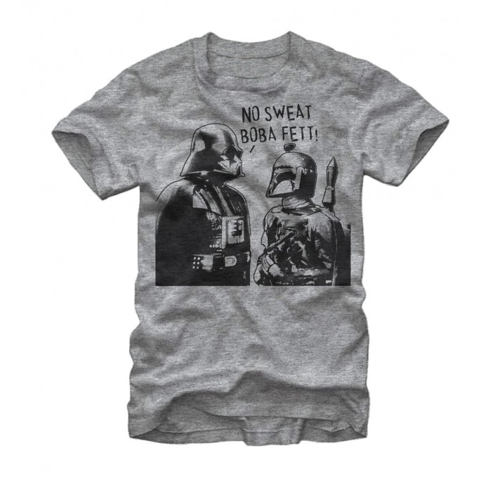 Star Wars No Sweat Boba Fett Adult T-shirt