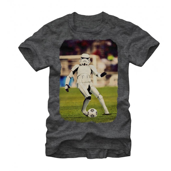 Star Wars Stormtrooper Soccer Adult T-shirt