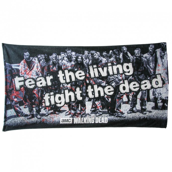 The Walking Dead Walkers Beach Towel