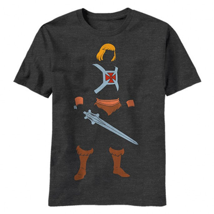 Masters of the Universe Mini He-Man Adult T-shirt