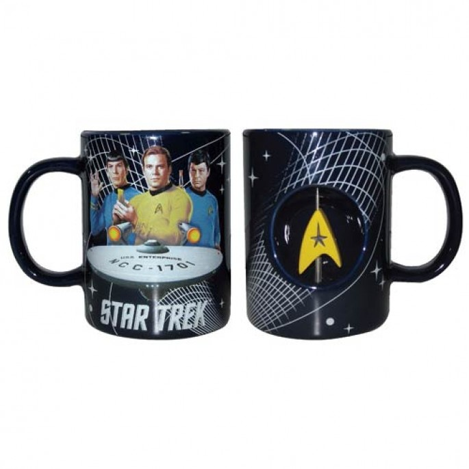 Star Trek 12 oz. Spinner Mug