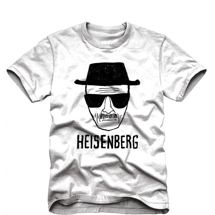 Breaking Bad Heisenberg Sketch Adult T-Shirt