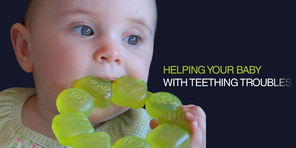 Helping your baby with teething troubles