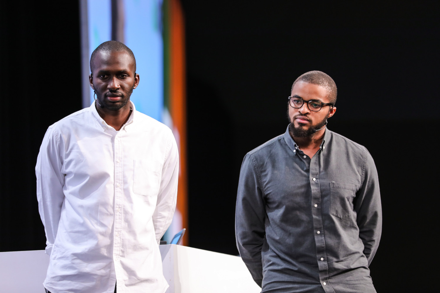Demilade Ademuson and Obinna Okwodu, Cofounder and CEO of Fibre respectively