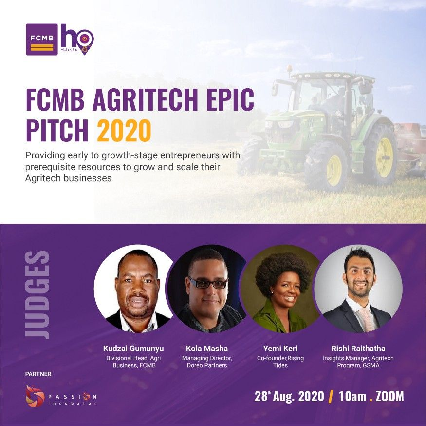 FCMB AGRITECH EPIC SPEAKERS