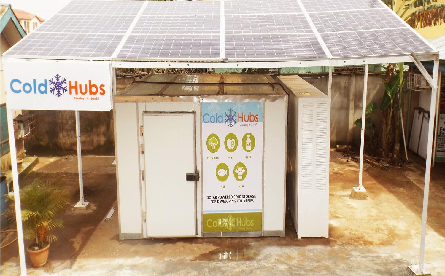 ColdHubs, solar-powered cold storage