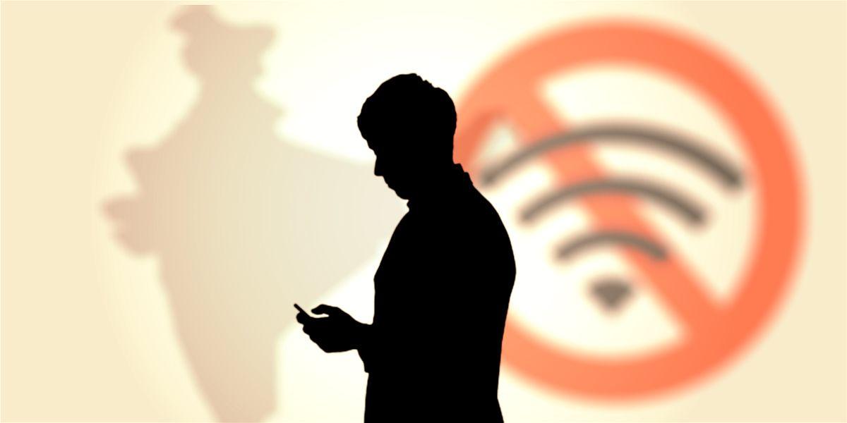 Εικόνα ενός άνδρα χωρίς wi-fi