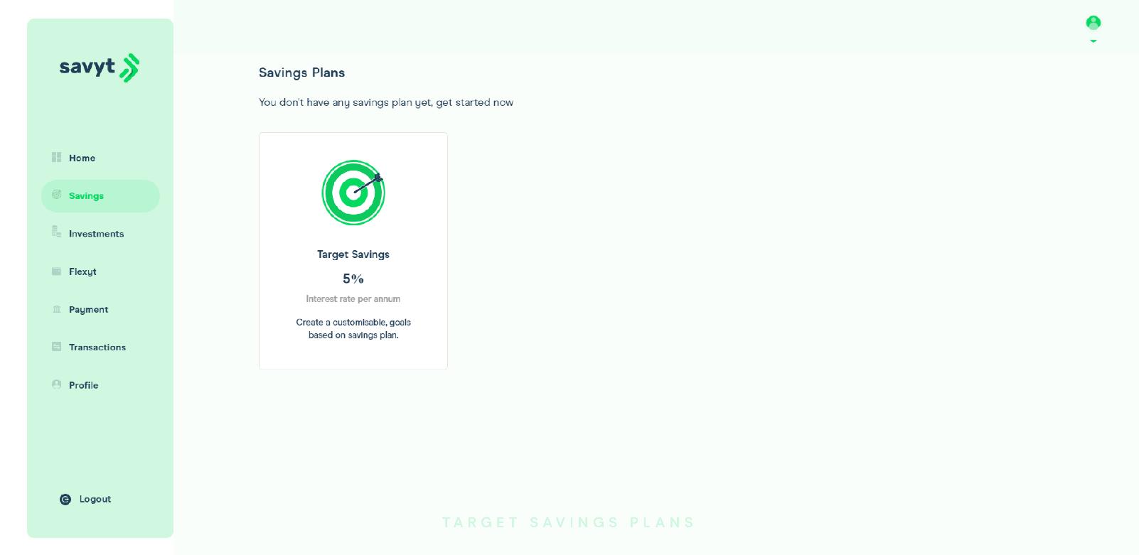 Savyt Savings Plan
