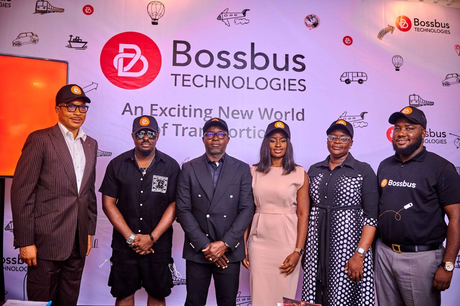 Bossbus press conference on Jim Iyke's movie, Bad Comments