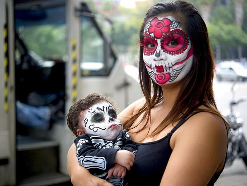 Day Of The Dead And The Sugar Skull