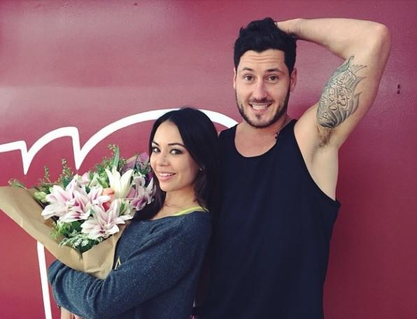 Is dwts val dating his partner