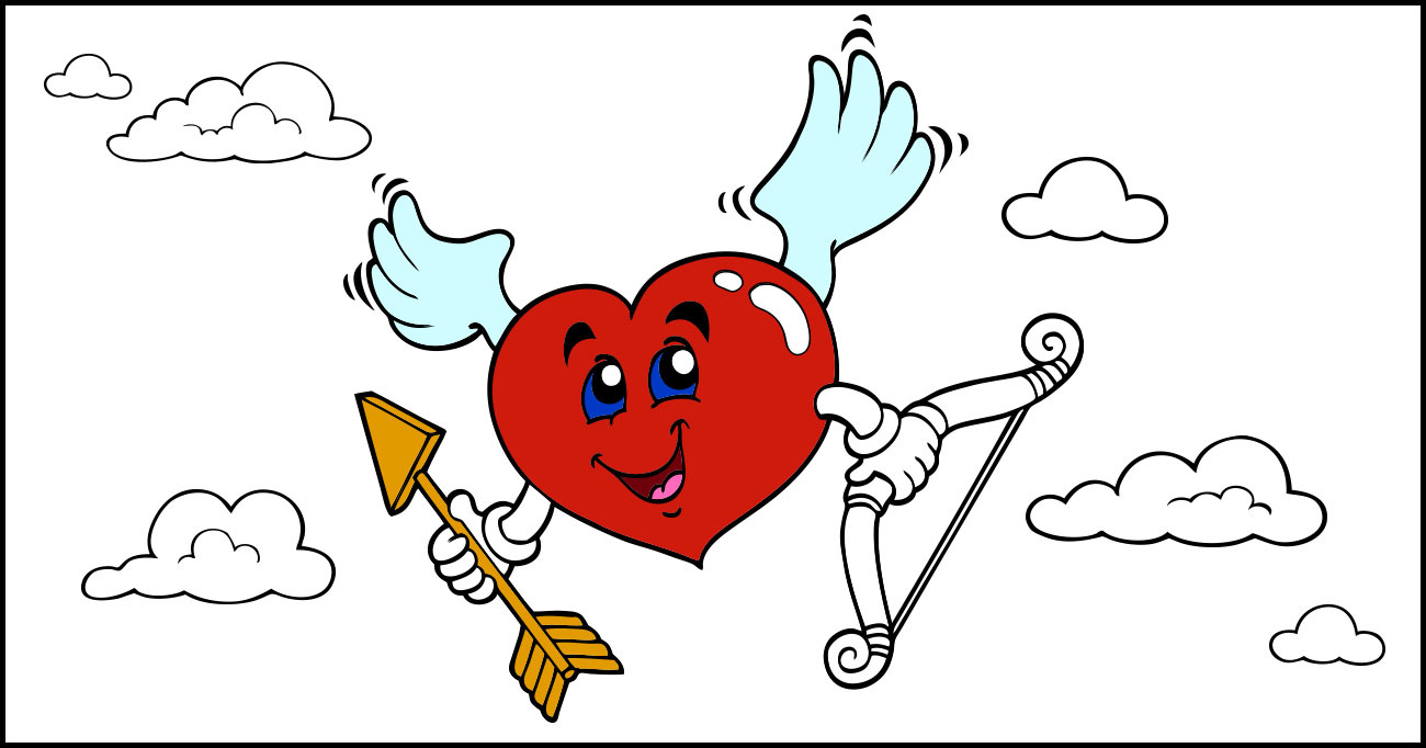 Fantastic Heart Design Coloring Pages Motif - Drawing Coloring ...