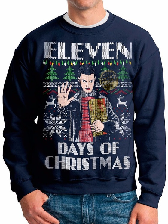 These Stranger Things Ugly Christmas Sweaters Are About To Turn