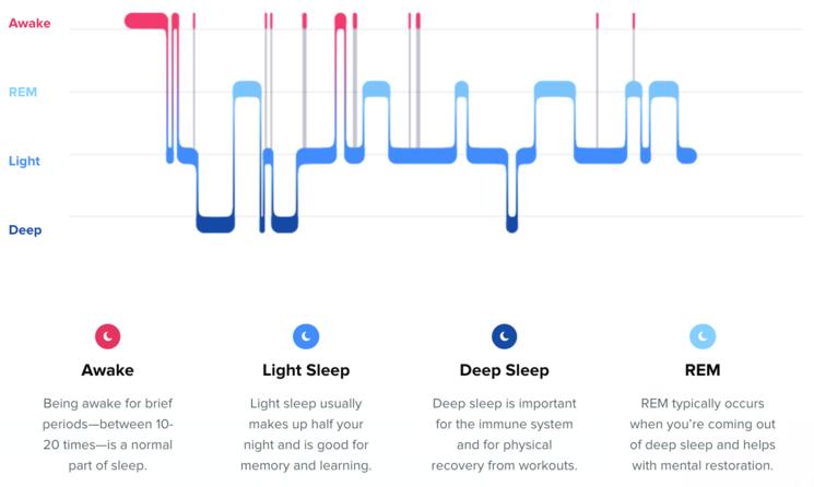 How much rem sleep should i get a night