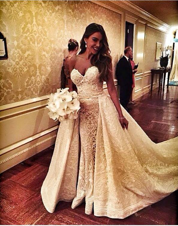 Sofia Vergara Wedding Dress Style | Wedding Ideas