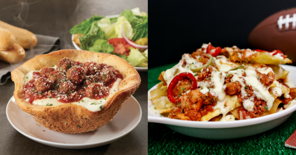 olive gardens new menu features frightening food mashups like italian nachos and pizza bowls - Olive Garden Pizza