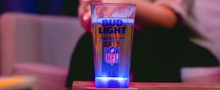 Bud Light Made Light Up Touchdown Cups