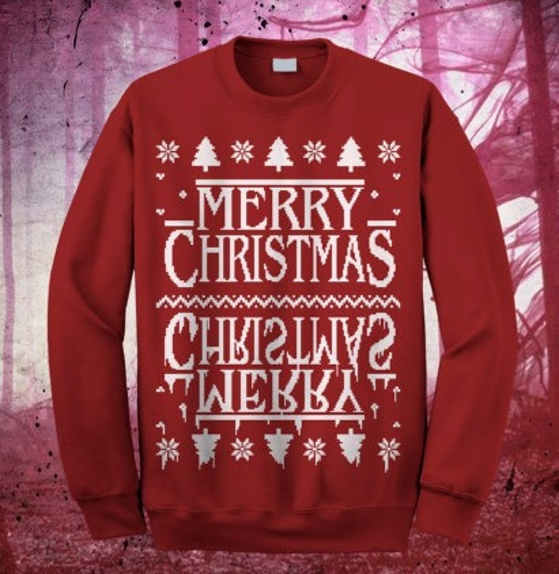 Stranger Things Ugly Christmas Sweater.These Stranger Things Ugly Christmas Sweaters Are About To