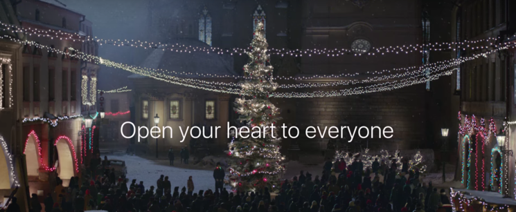 apples 2016 holiday commercial is strange but sweet