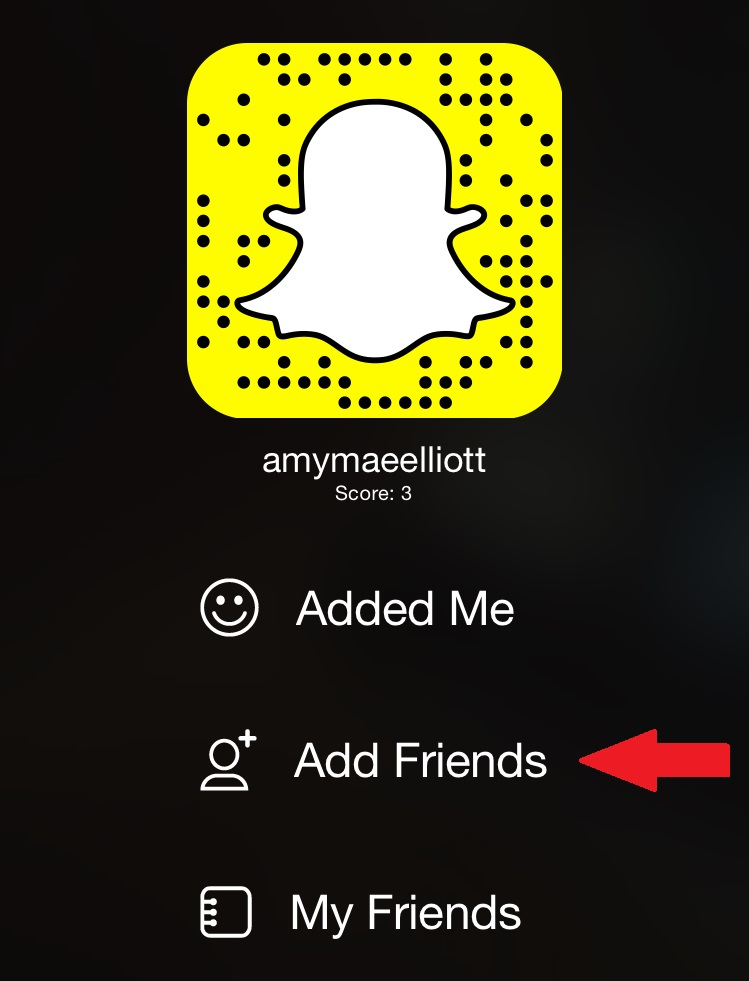 how to follow people on snapchat