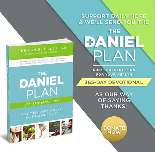 The Daniel Plan: God's Prescription for Your Life