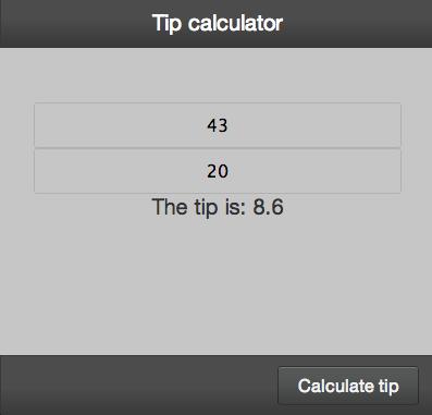 Enyo Tip Calc