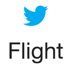Flight by Twitter