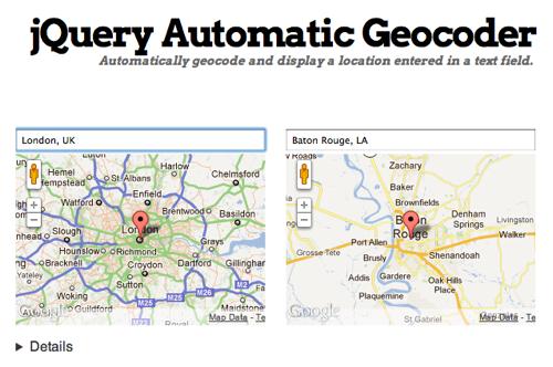 jQuery Auto-geocoder