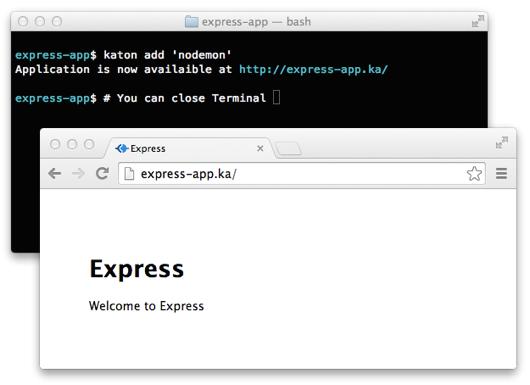 Katon, Express