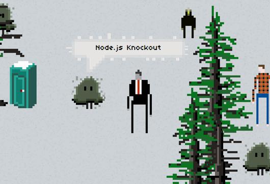 Node.js Knockout site