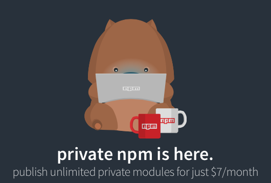 Private npm