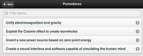 Pomodoro Timer screenshot