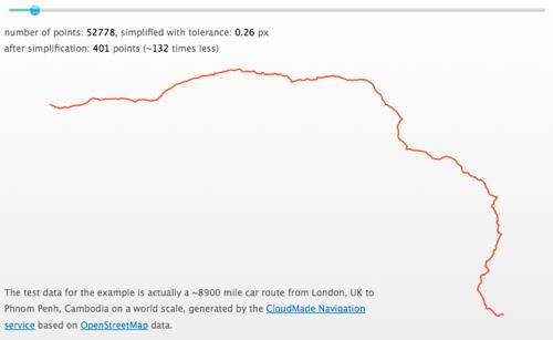 Simplify.js demo screenshot