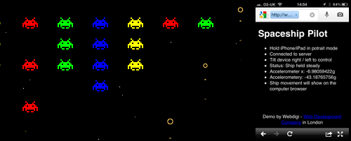 Spaceship Pilot screenshot