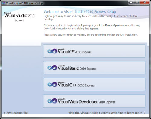 Installing Visual C++