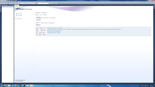 Running Microsoft's IDE