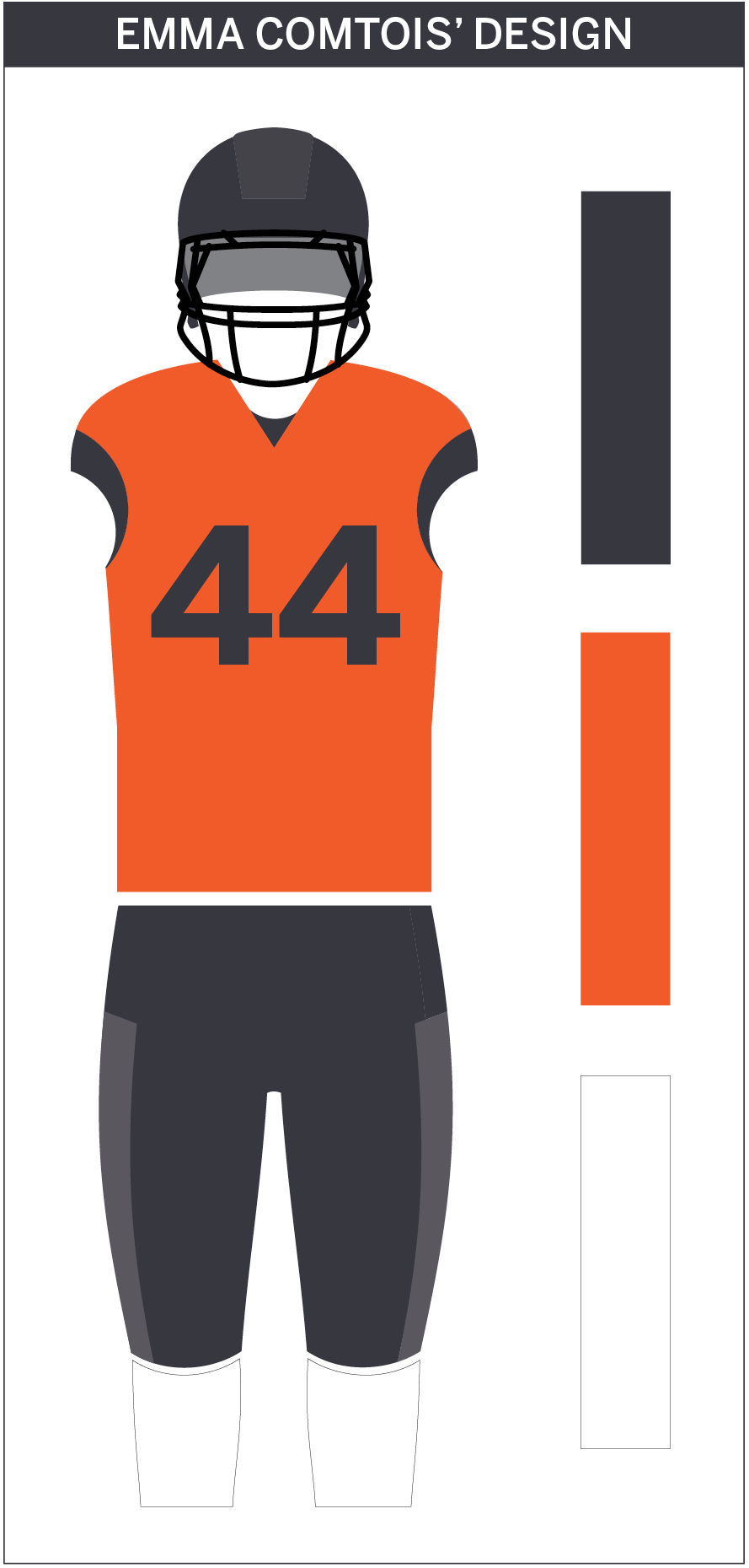 50a5c0a69ee From the Design Desk: Syracuse football's gray uniforms - The Daily ...