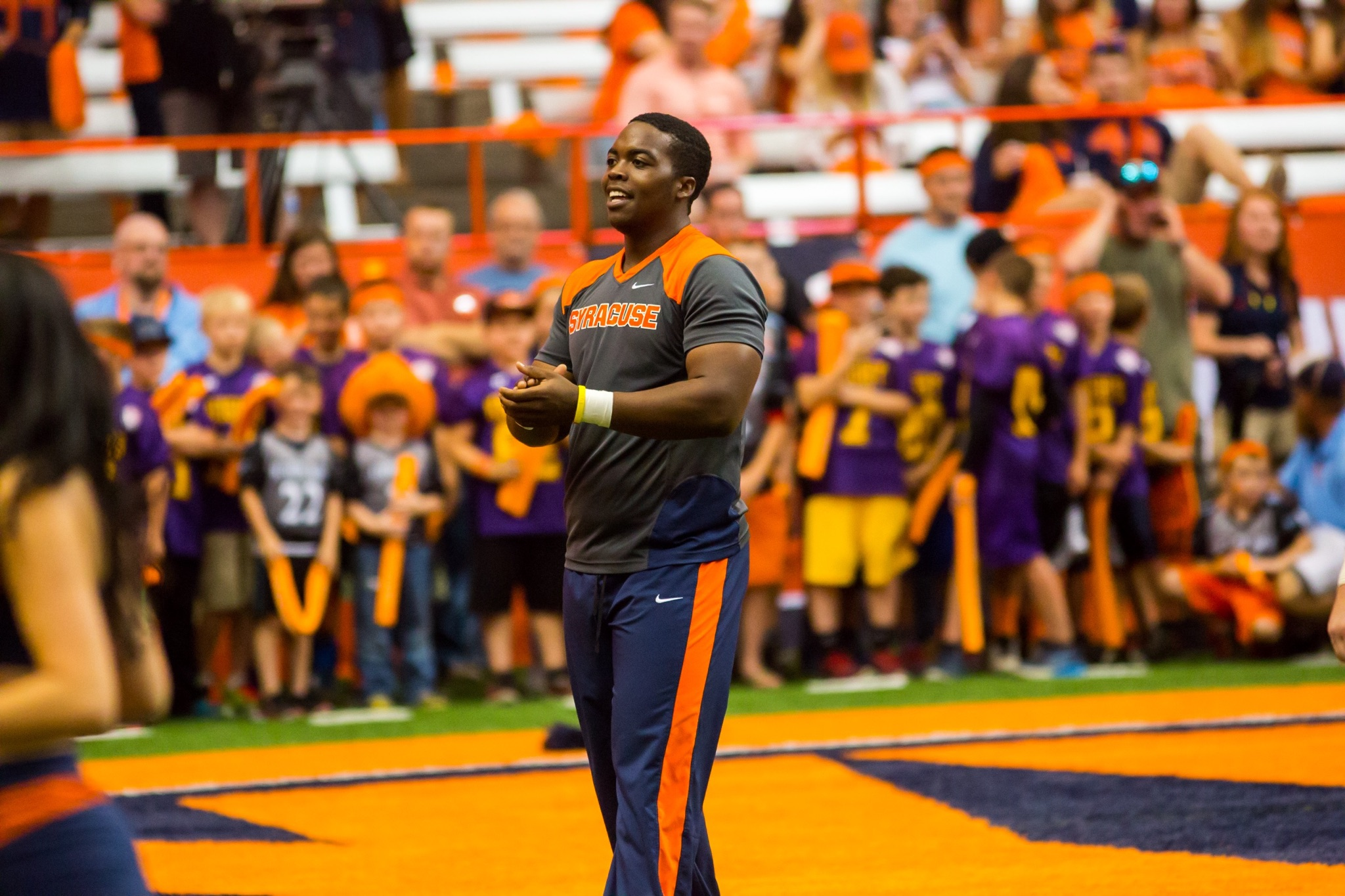 Bilal Vaughn Defied Gender Norms To Become A Syracuse