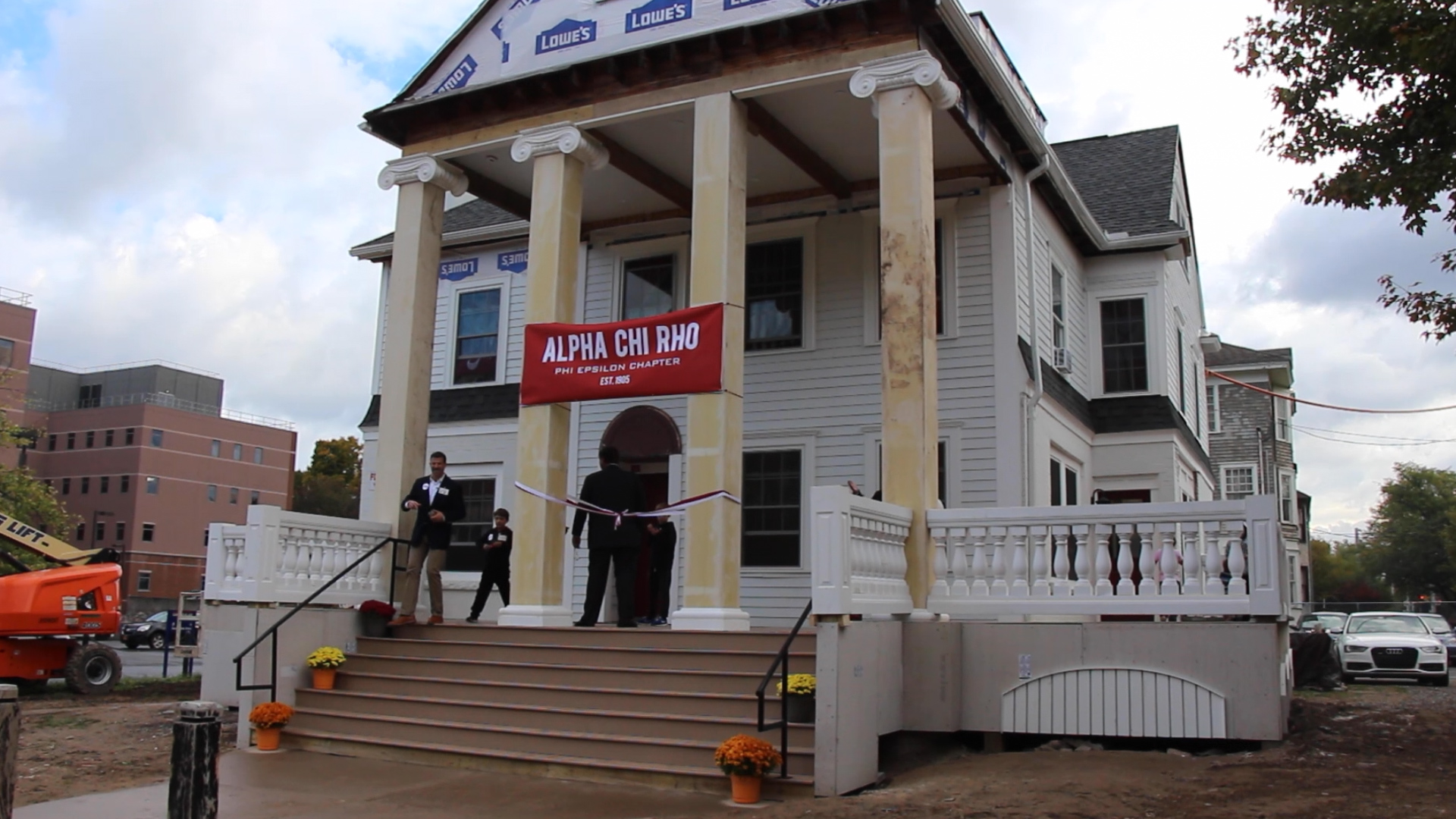 Video: Take a tour of Alpha Chi Rho's renovated fraternity ... on ranch house plans, most popular one story house plans, complete set of house plans, cottage house plans, easiest to build house plans, cape cod house plans, home depot modular house plans, amazon house plans, do it best house plans, low pitch roof house plans, sutherland's house plans, single story 30x40 house plans, parisian house plans, coach house plans, small house plans, mediterranean house plans, one story craftsman bungalow house plans, two bedroom 2 bath house plans, 1970s tri-level house plans, budget house plans,