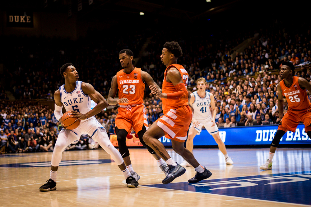 Syracuse S Next Opponent What To Know About No 1 Duke The Daily