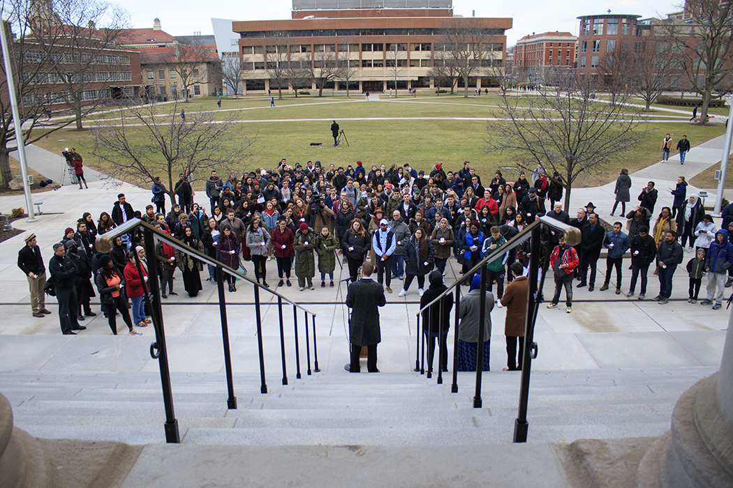 SU Community Honors Victims Of Christchurch, New Zealand