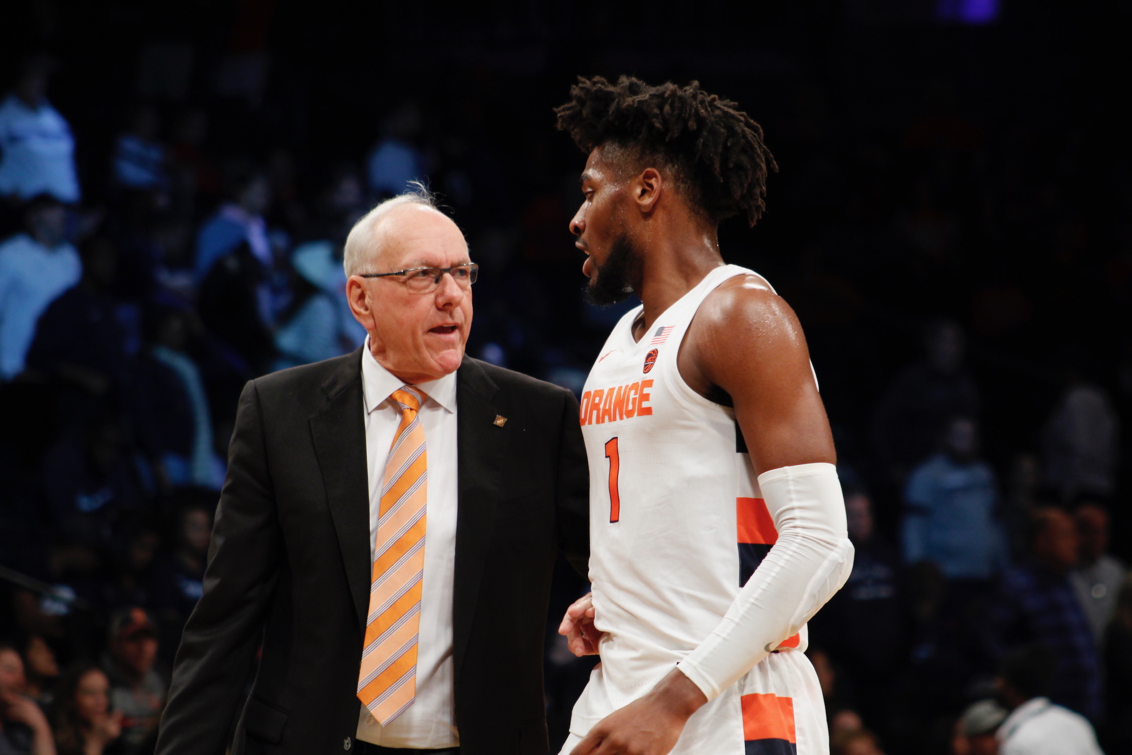 Image result for Jim Boeheim for Us To Win In The Tournament The Young Guys Are Going To Have To Help The Veterans.