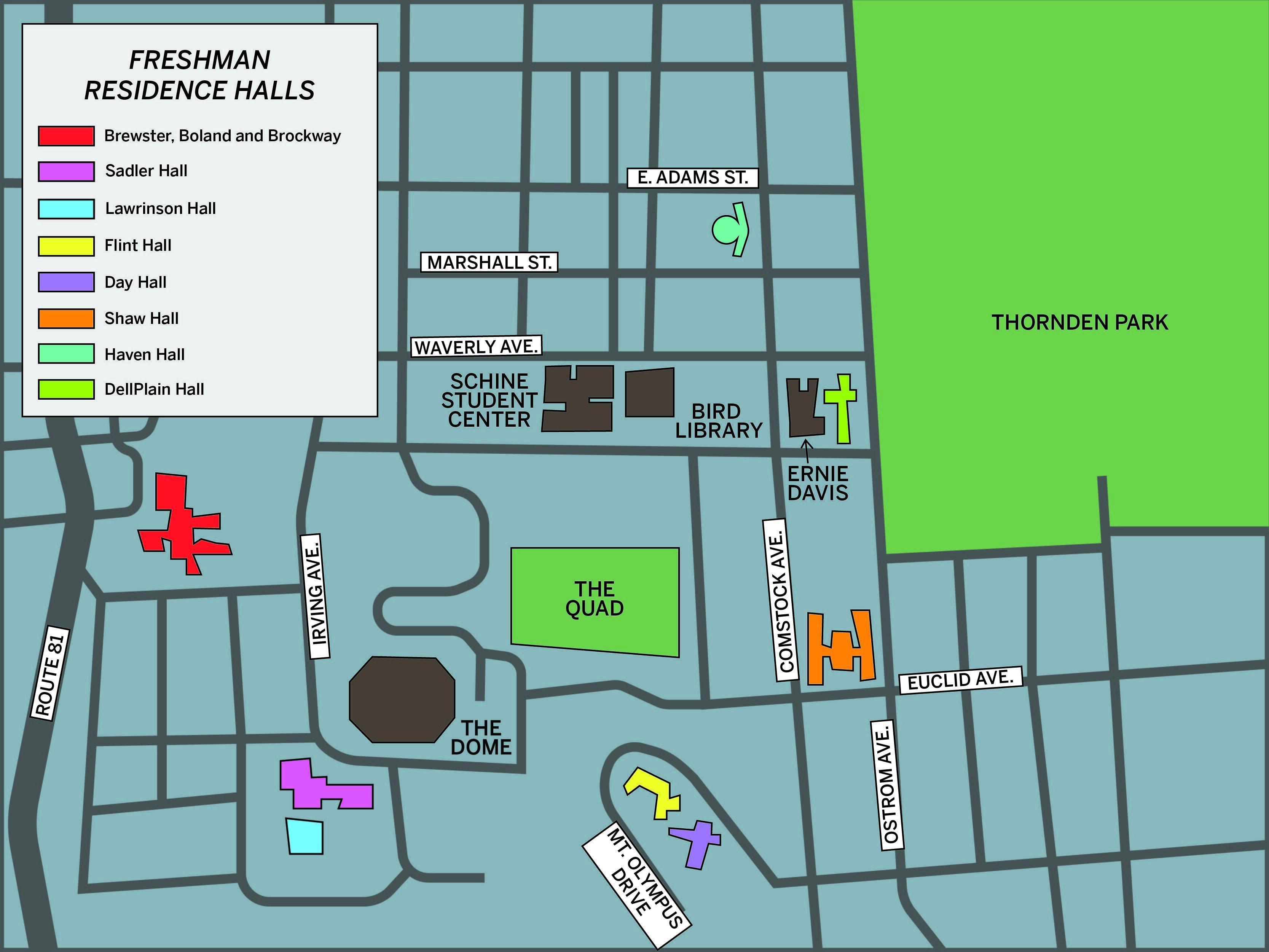 Dorm Guide A Breakdown Of Syracuse University S Freshman Residence Halls The Daily Orange